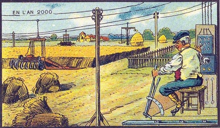 artistas imaginam agricultura nos anos 2000 Agro é Tech, Agro é Pop, Agro é Digital!