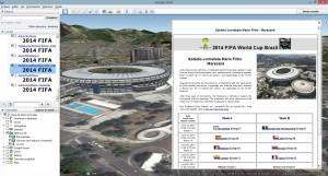 EstadiosCopaMundo 300x161 Mapa dos estádios da Copa do Mundo 2014 no Brasil