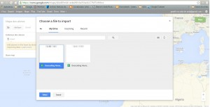 Criação de mapas no Google My Maps a partir da importação dos dados da Google Spreadsheet