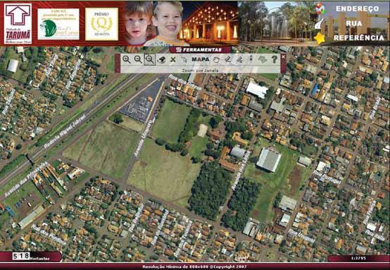 mapa online Prefeitura de Tarumã inaugura serviço de mapas online | MundoGEO mapa online