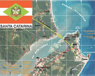 pag72 Santa Catarina publica mapa político na escala 1:500.000