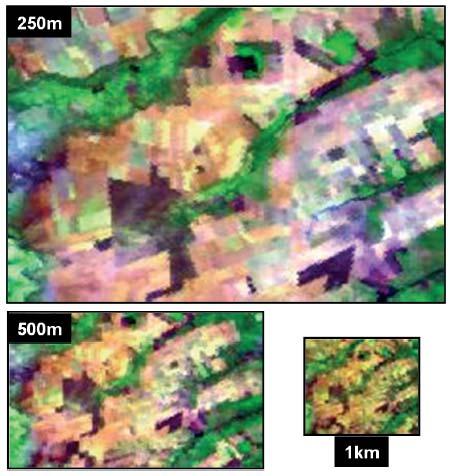 pag32 2 O sensor MODIS a bordo das plataformas Terra e Acqua