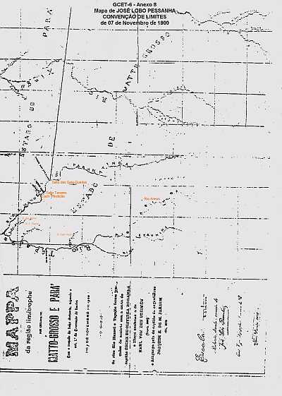 MatoPara Anexo1 Limites Mato Grosso – Pará