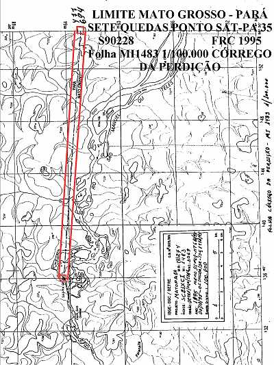 MatoPara4 Limites Mato Grosso – Pará