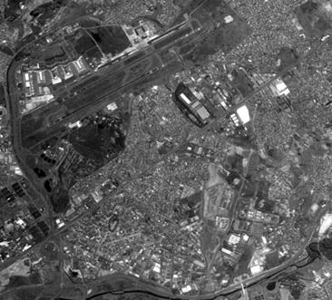 Cbers2B HRC SAO PAULO Imagens de alta resolução do satélite Cbers 2B já estão na internet