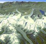 Himalaia mapa nasa O mais novo mapa da superfície terrestre está disponível gratuitamente na internet