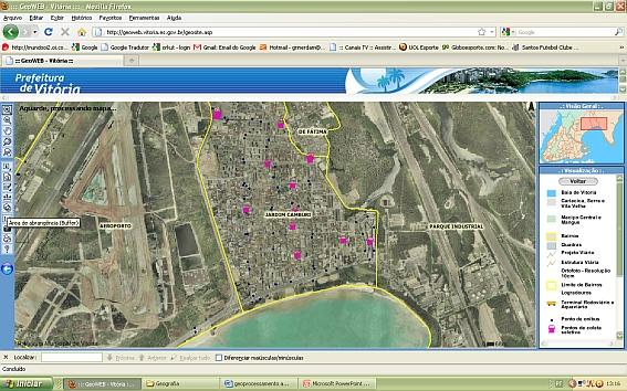 InfoGEO 62 Artigo 03 Figura 02 Geoprocessamento no Planejamento Urbano