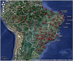 RBMC IBGE inaugura estações de posicionamento por satélite