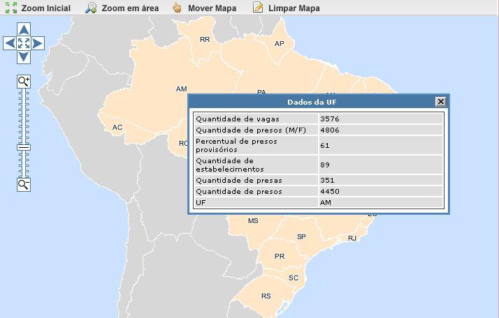geopresídios CNJ lança mapa com situação dos presídios no Brasil