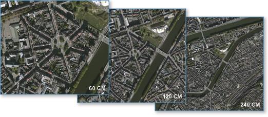 Global Basemap Esri adquire imagens de alta resolução para usuários do ArcGIS