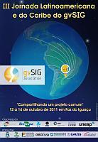 inicio Disponíveis vídeos da III Jornada Latinoamericana de gvSIG