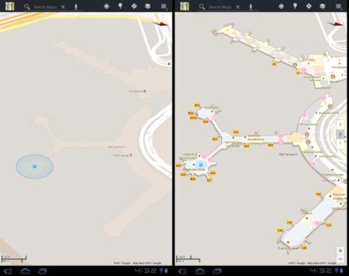 Google Maps aeroporto interior Google Maps agora exibe o interior de estabelecimentos