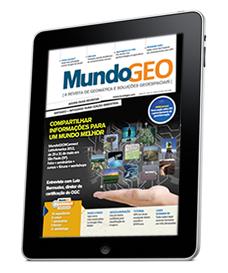 ipad Revista MundoGEO para Tablet já está disponível