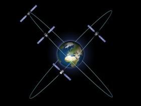 Los cuatro satélites Galileo IOV