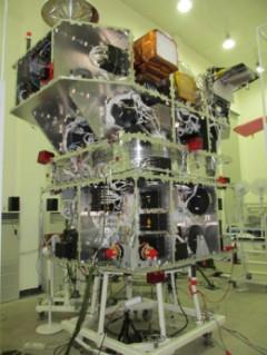 Satélite CBERS-3 na China