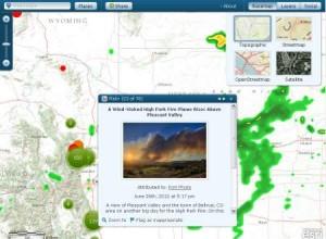 Esri e Microsoft resposta a desastres Esri irá fornecer mapas online durante desastres em parceria com a Microsoft
