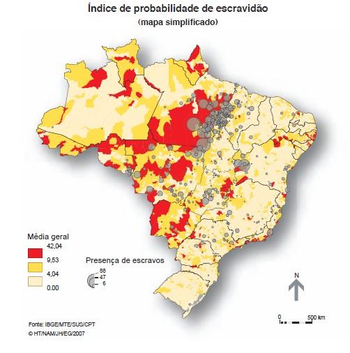 Atlas do trabalho escravo no Brasil Geógrafos lançam atlas do trabalho escravo no Brasil