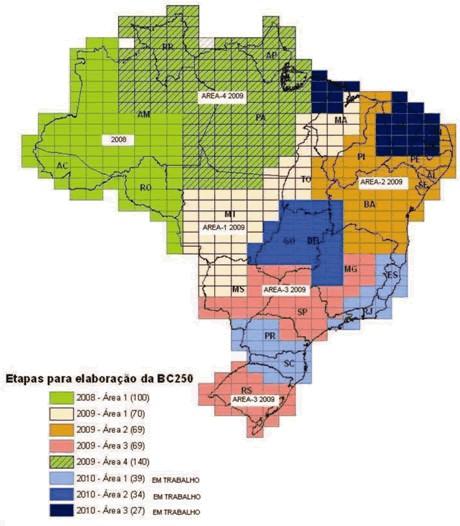 Base Cartogr%C3%A1fica do Territ%C3%B3rio Nacional IBGE IBGE lança nova base cartográfica do território nacional