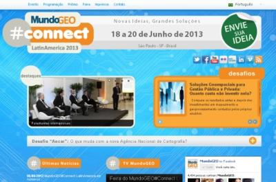 MundoGEO#Connect LatinAmerica 2013_Site