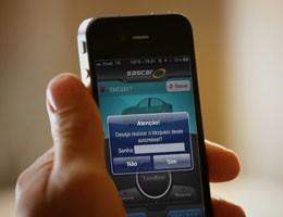 Localização de veículos para iPhone