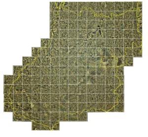 Mosaico de imagens de Goi%C3%A1s e do Distrito Federal IBGE disponibiliza mosaico de imagens de Goiás e Distrito Federal
