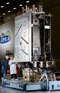 Satélites da próxima geração do sistema GPS passam por testes