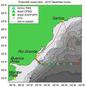 Navio pesquisa nível de CO2 e interação oceano-atmosfera