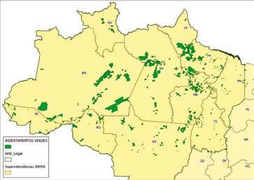 Incra publica dados de combate ao desmatamento na Amazônia