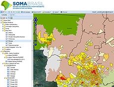 Sistema geoespacial SomaBrasil_Agropecuária