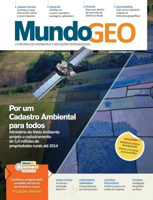 Capa MundoGEO 71 MundoGEO 71