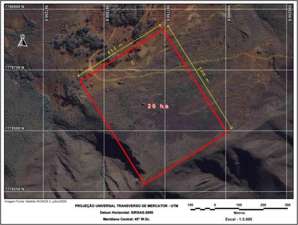 Figura 23 Estudo de caso de um levantamento topográfico altimétrico realizado com estação total e laser Scanning terrestre