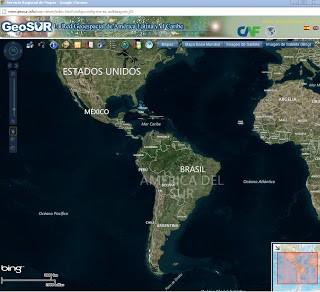 Visor de mapas de GeoSUR Conozca el visor de mapas de la Red Geoespacial de América Latina y el Caribe