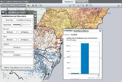Tutorial mostra como usar inteligência geográfica na Cloud Tutorial mostra como usar inteligência geográfica na Cloud