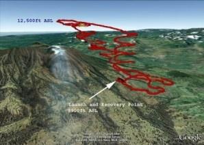 Nasa flies dragon eye UAV into Volcanic Plume