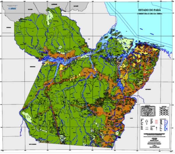 Cobertura e Uso da Terra no Estado do Pará