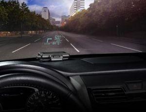 HUD Garmin lança GPS que projeta informações no carro