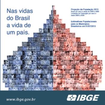 IBGE1 IBGE lança a publicação Projeções Populacionais do Brasil