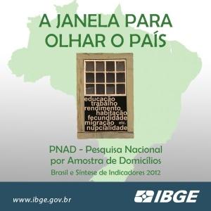 PNAD 2012-IBGE