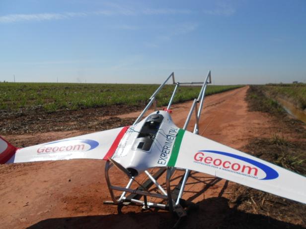 Geocom apresenta o drone PP-XOG para mapeamento