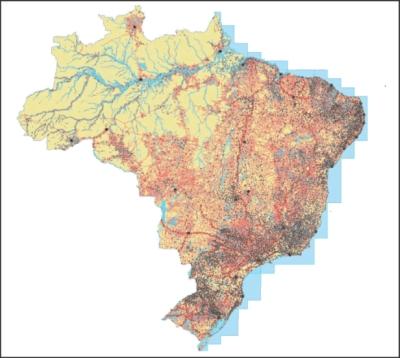 Nova base cartográfica contínua do Brasil Brazil has a new version of its continuous cartographic base