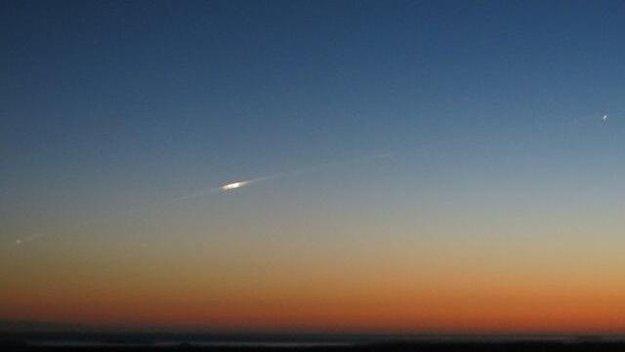 GOCE reenters atmosphere large El satélite GOCE se rinde a la gravedad