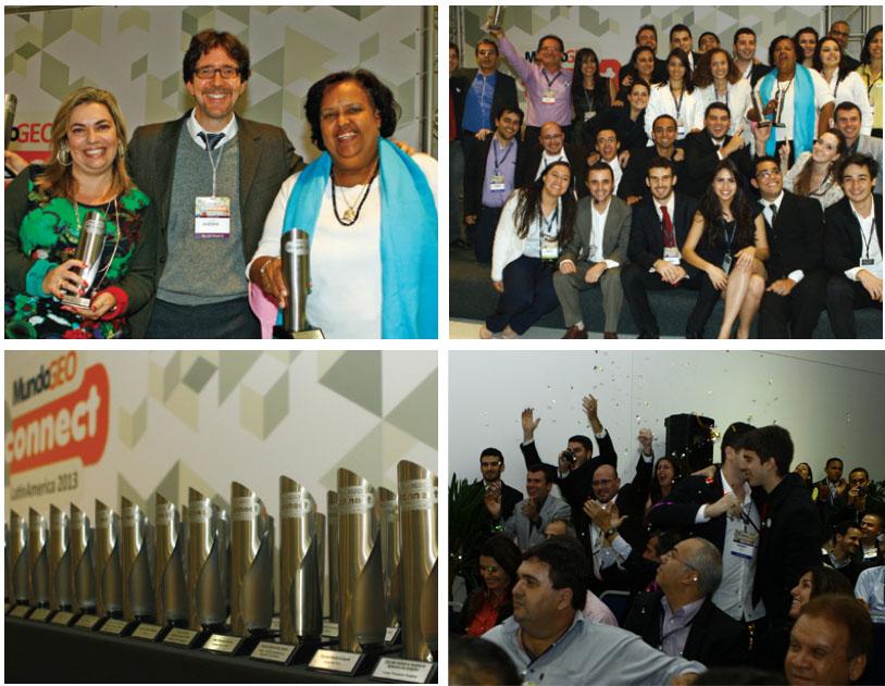 Mosaico Prêmio MundoGEOConnect 2013 copy Premiación del sector geoespacial recibe sugerencias. ¡Participe!