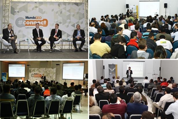 MundoGEOConnect 2013 Release Atividades menor MundoGEO#Connect LatinAmerica 2014 lanza un programa con más de 30 actividades