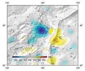 Gravidade da terra 011 Terremoto Fukushima cambió la gravedad de la tierra