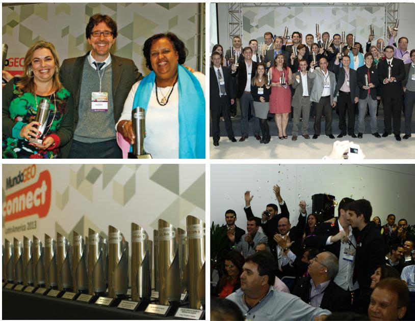 Mosaico Prêmio MundoGEOConnect 2013 2 Últimos días para indicar a los finalistas del Premio MundoGEO#Connect 2014