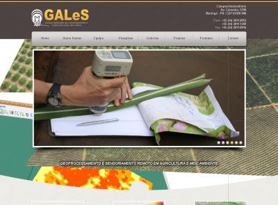 Grupo GALeS UEM de geoprocessamento lança novo site