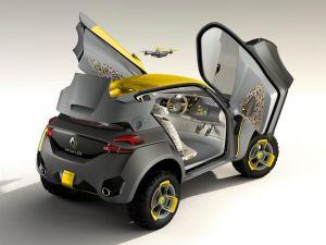 renaultkwiddronediv1 Renault apresenta carro com drone para motorista evitar trânsito
