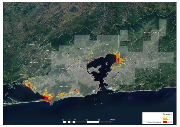 Vulnerabilidade Pesquisa mapeia áreas vulneráveis pela ação do mar no RJ