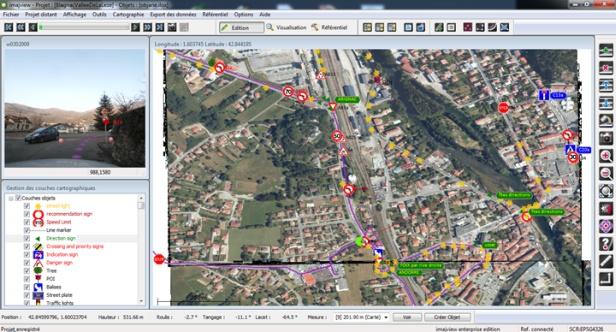 Imajing apresenta soluções GIS e de mapeamento de rodovias 2 Imajing apresenta soluções GIS e de mapeamento de rodovias