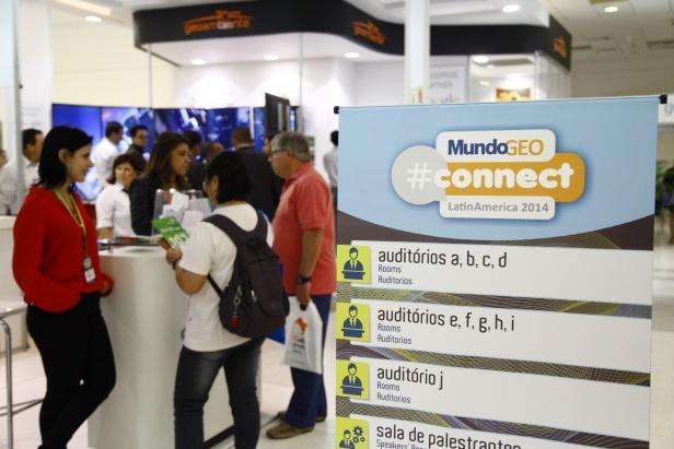 Connect 3 Recorde de participantes em dois dias do MundoGEO#Connect 2014